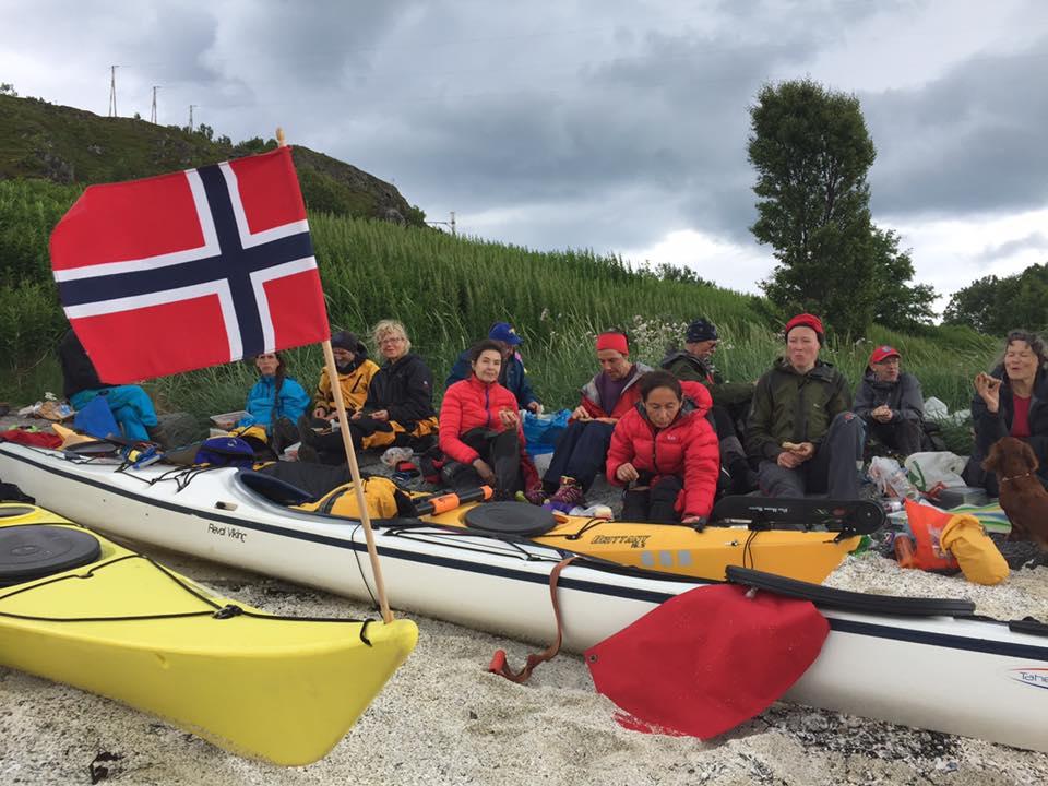 Tromsø havpaddleklubb outing photo by  Liv Ragnhild Kjellman