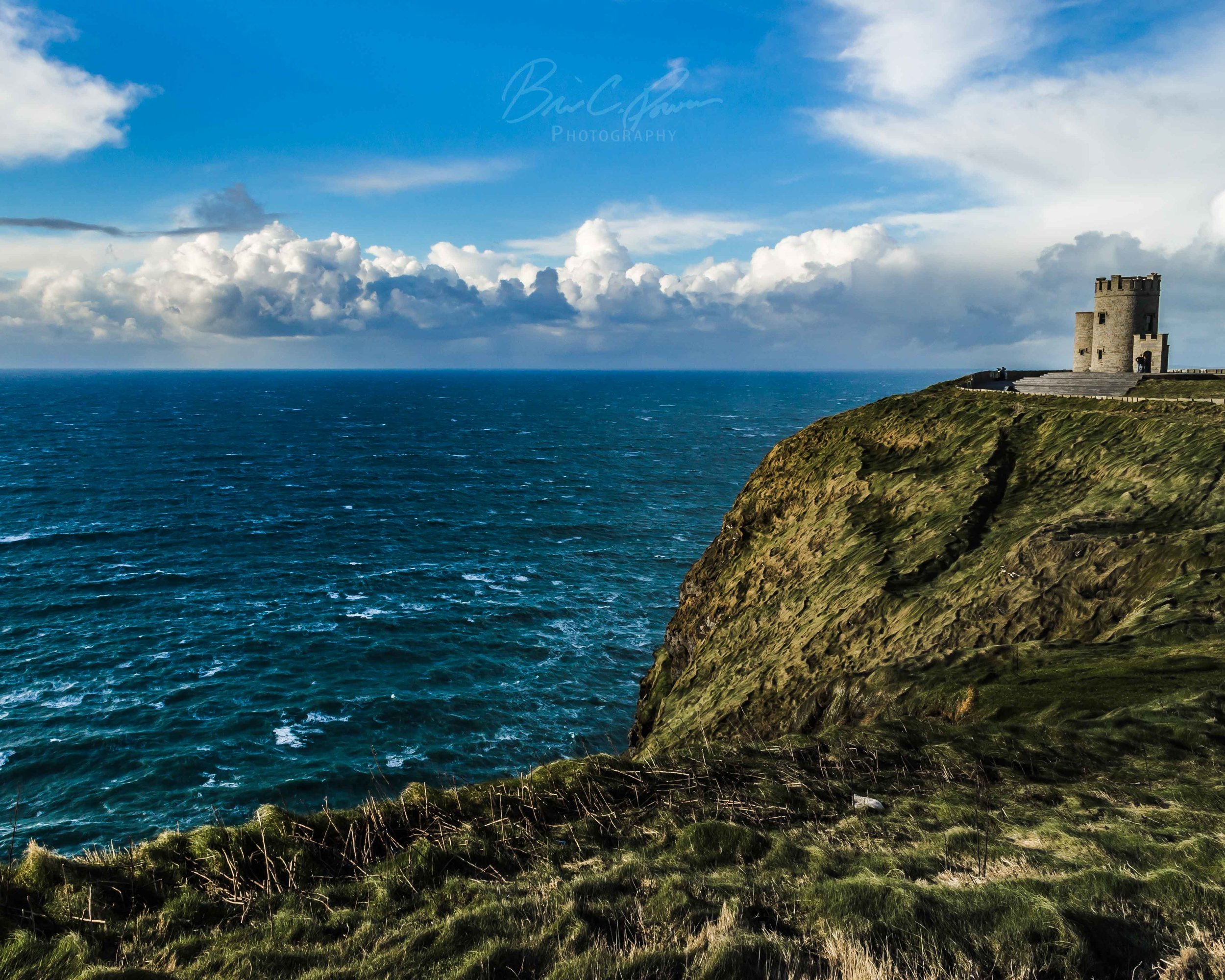 O'Brien's Tower stands guard on Ireland's west coast.
