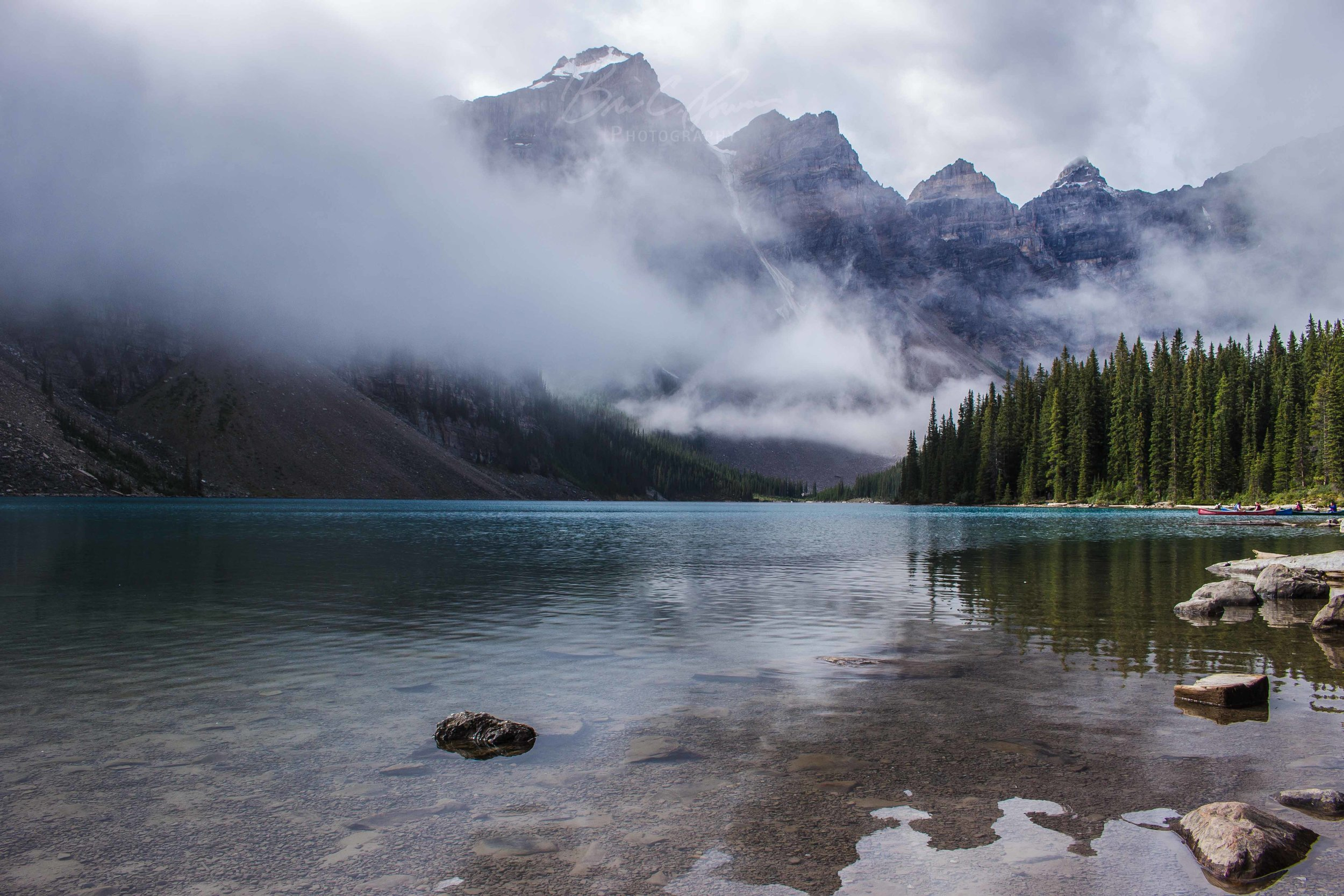Reflection - Moraine Lake, Banff National Park