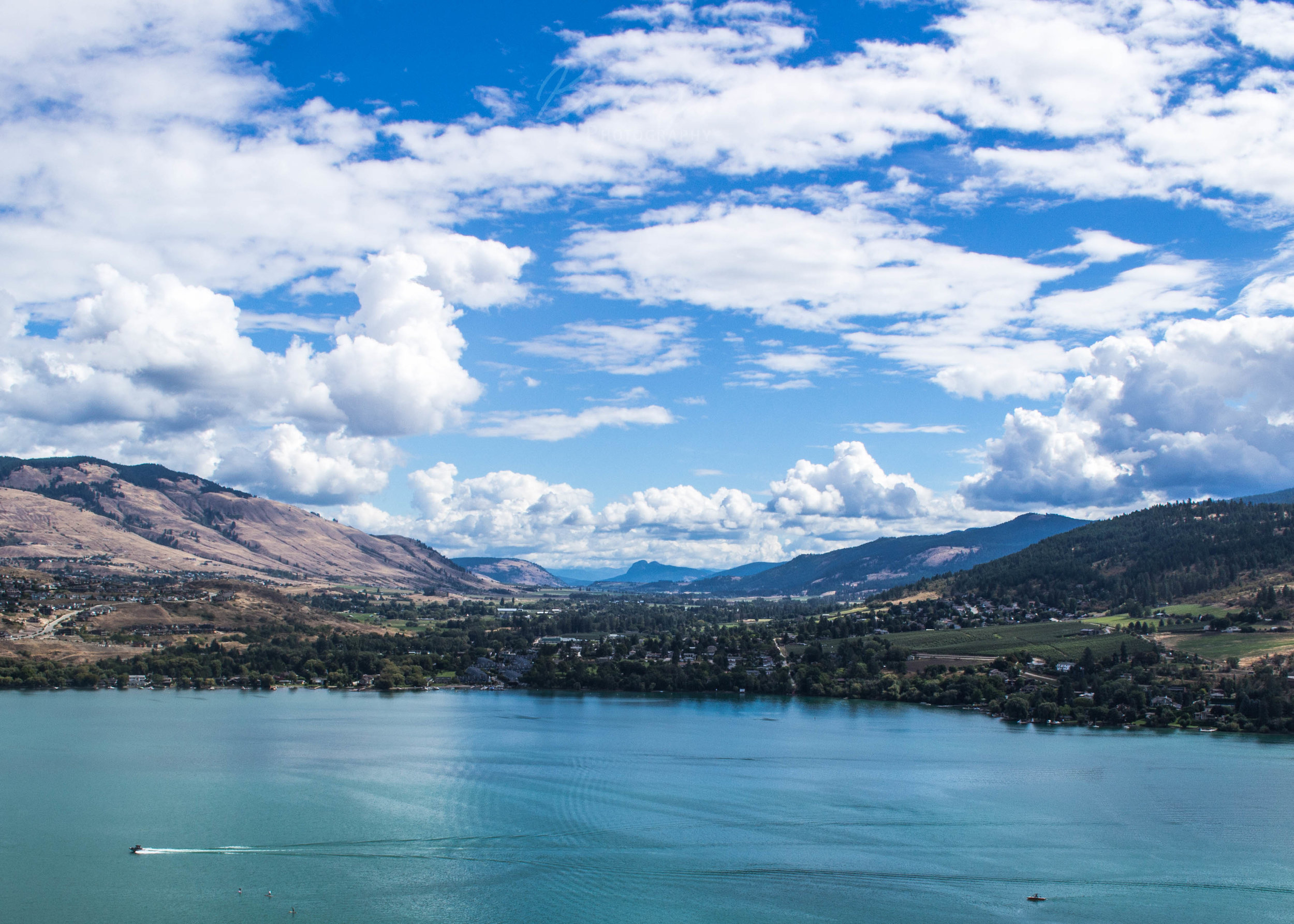 Okanagan – Shores of British Columbia's major lake.