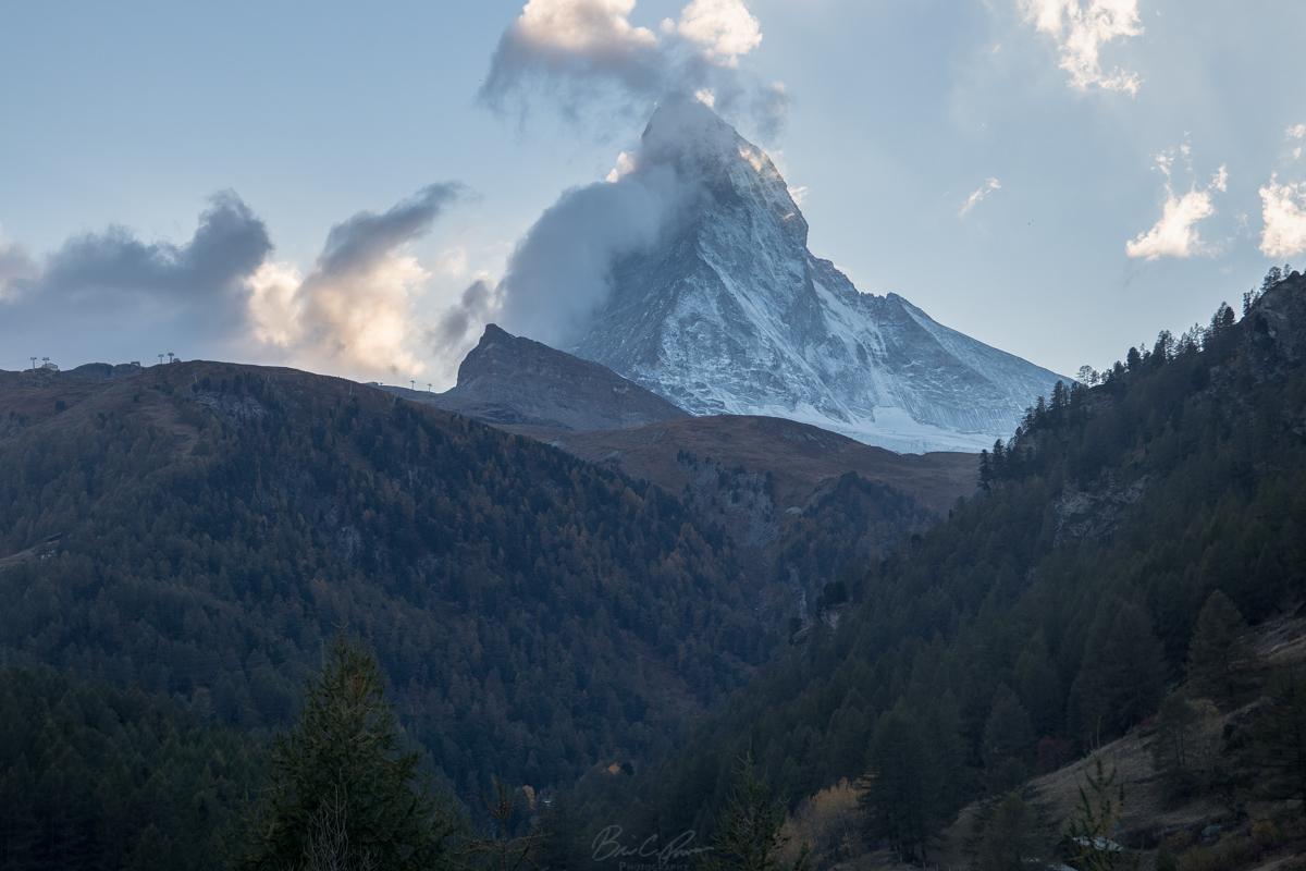 View of Matterhorn from Zermatt