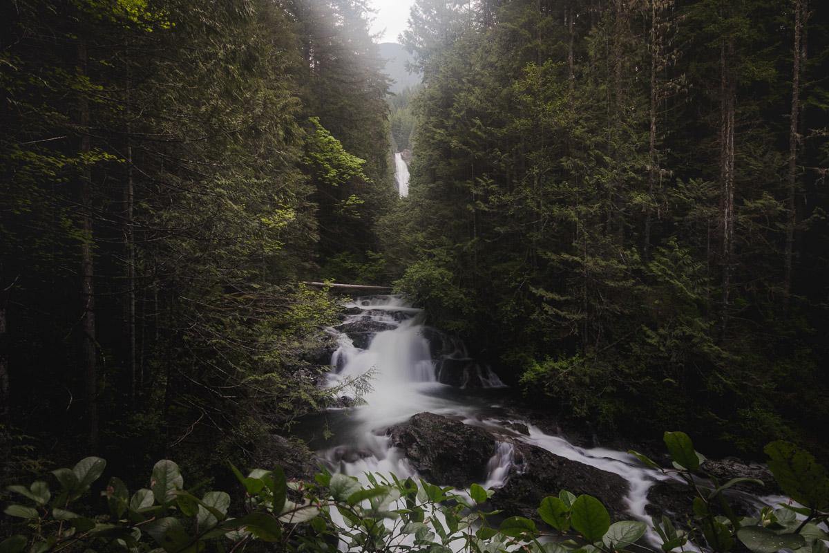 Lower Wallace Falls, Wallace Falls State Park, Washington