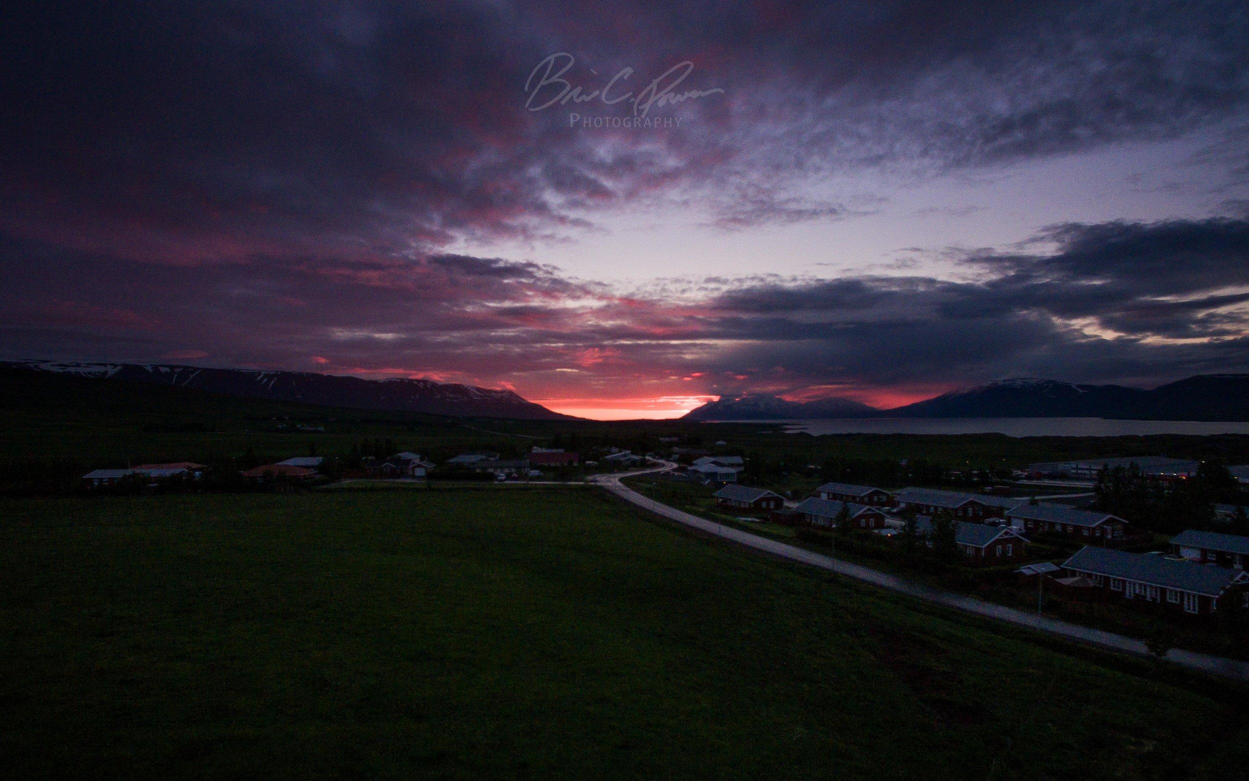 Midnight Sun Akureyri, Iceland | Brian C Powers Photography.jpg