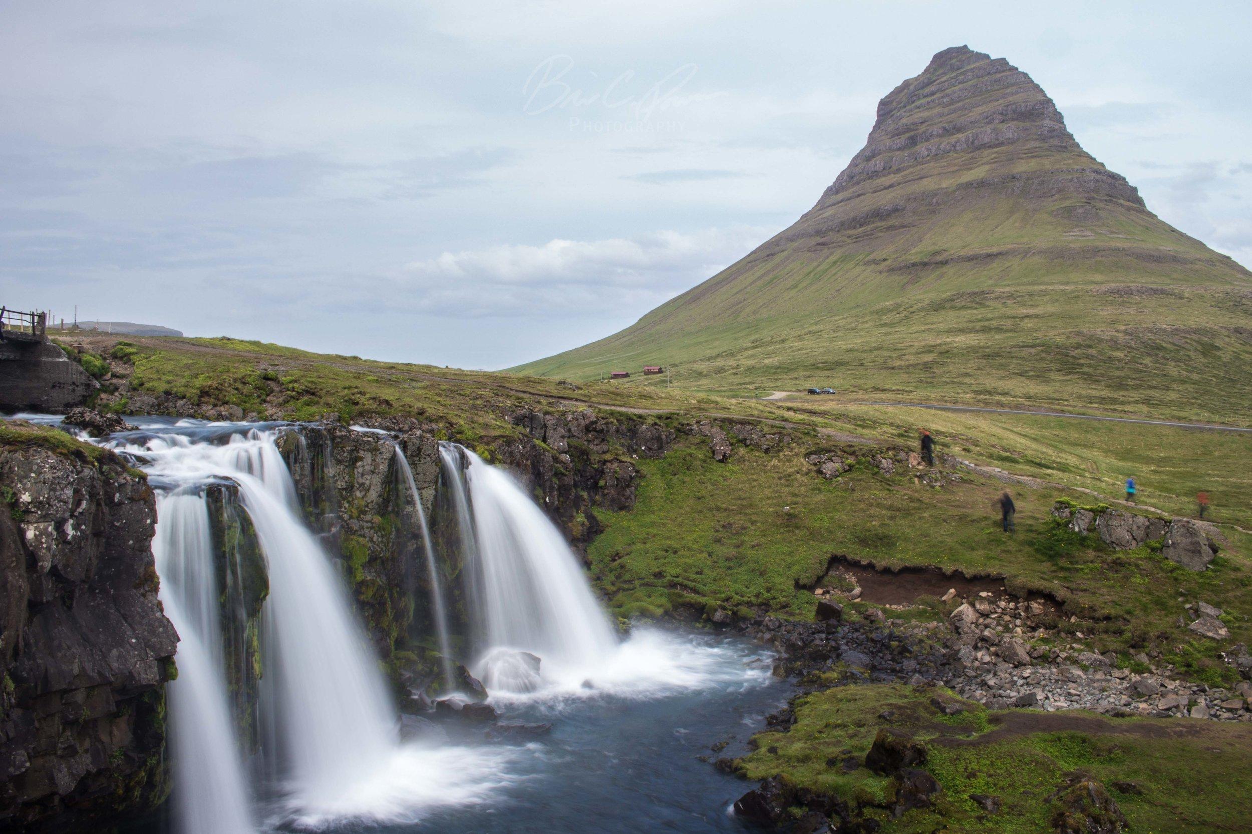 Kirkjufell Mountain in western part of Iceland