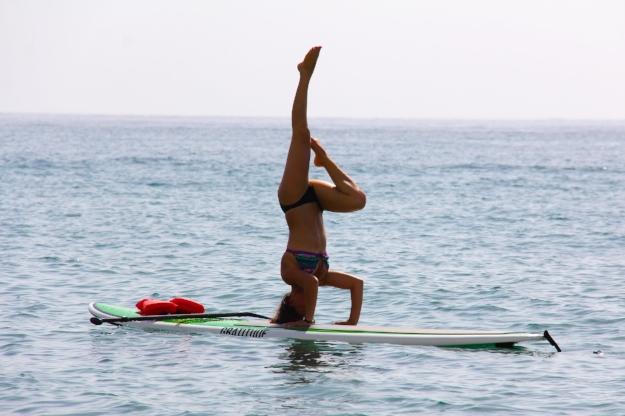Barbara Alfonzo SUP Yoga