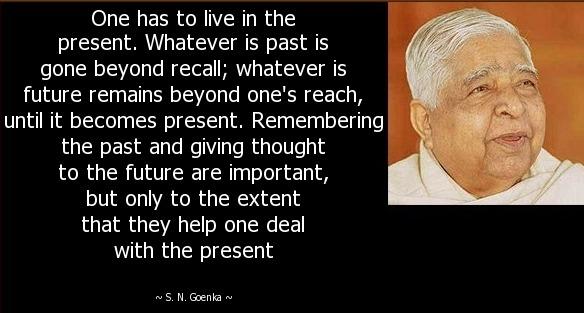 S. N. Goenka Quote