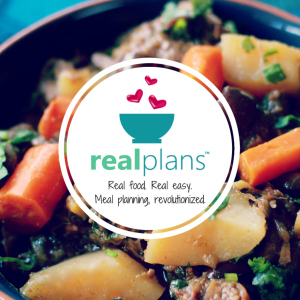 Real Plans is my go to app for weekly mel prep. from grocery list to recipes this app makes so easy to shop and cook healthy at home.