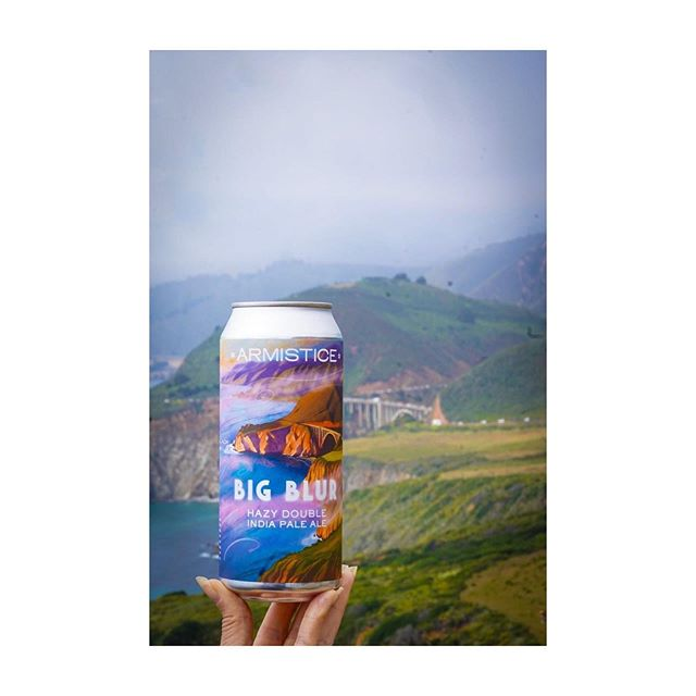 """We can't help, but share this epic photo @instapint took! """"Big Blur"""" looks right at home. 📸📸📸 ⠀⠀⠀⠀⠀⠀⠀⠀⠀ Taking your #armisticebeer somewhere rad? Take a 📸 of it and tag @armisticebeer! We ❤️ seeing where our beer ends up!"""