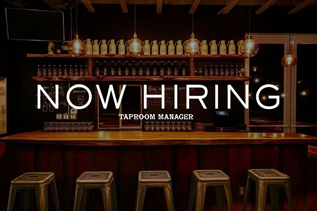 Join the Armi!  We're doubling the beer garden and tripling the taproom and turns out: we can't do it all. So we're hiring a Taproom Manager to join our our growing team of rad people out here in Richmond. Are you a rad person who is dedicated to cultivating healthy, inclusive spaces, who believes in the value of sharing pints and conversations with neighbors and strangers, who knows Richmond is Bay's best kept secret, and who has an unabashed love of fast rotating, face-rippingly fresh beer? Then join the Armi and/or tag a friend who should! Apply through the link in our bio. #alesandallies