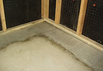 Water prevention in Basement