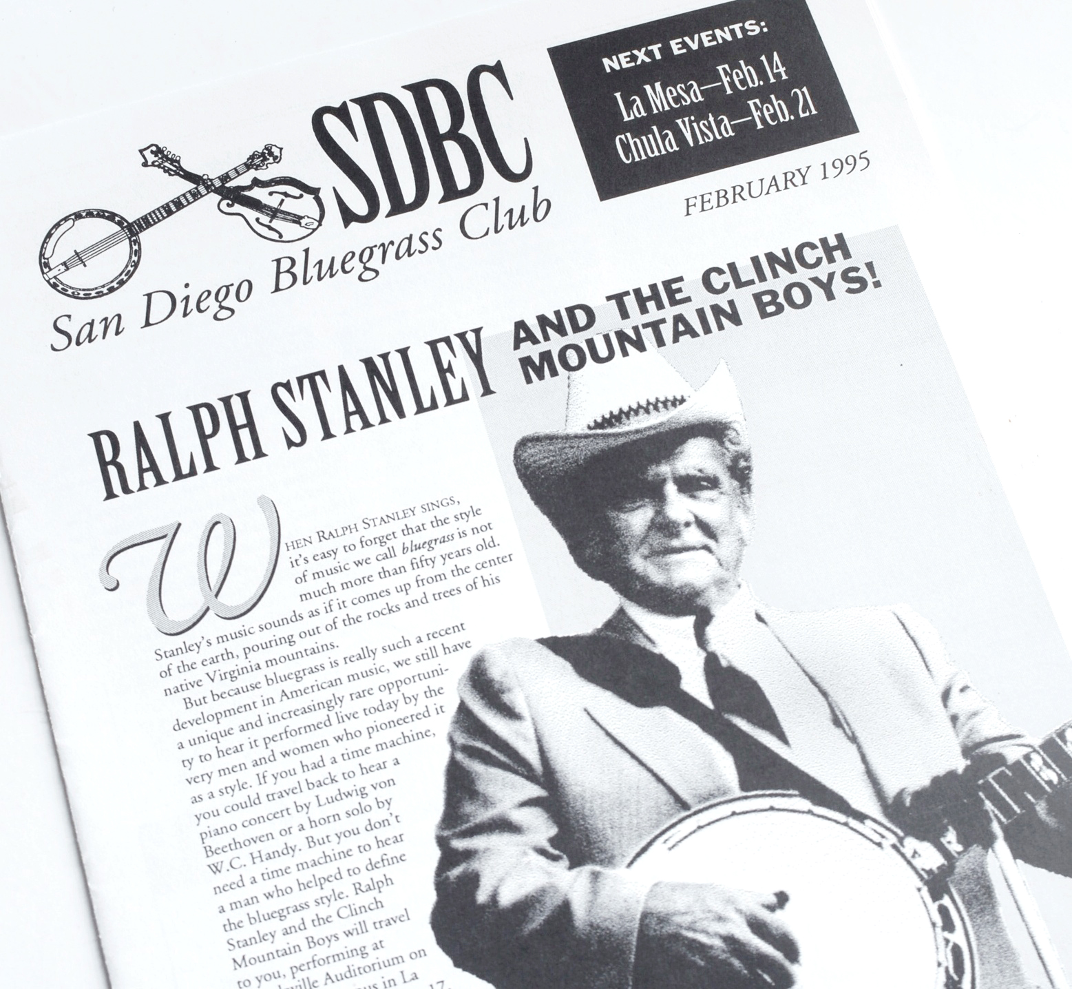 Another example of effective low-budget design. Also, Ralph Stanley's agent liked my writing in this article so much, he used bits of it in Ralph's own PR kit for years.