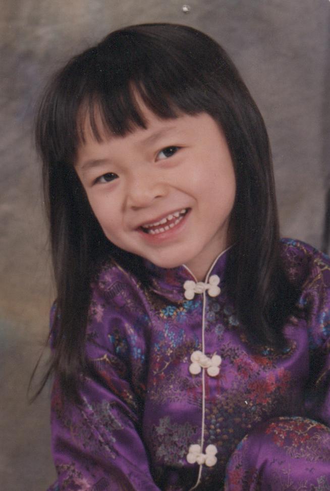 Liliana, December 2001, age 3-1/2
