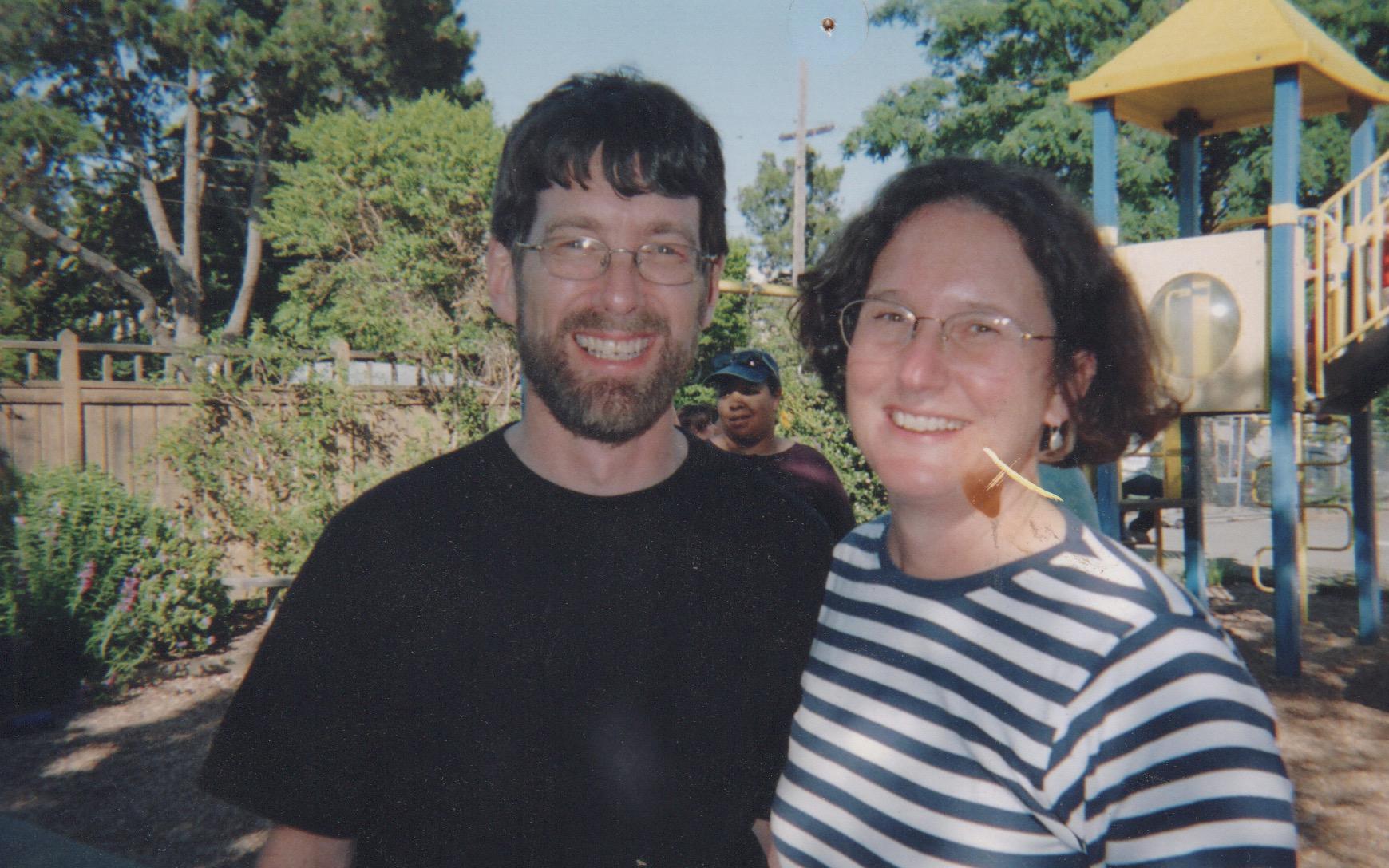 Tom Lent and Martha Crusius