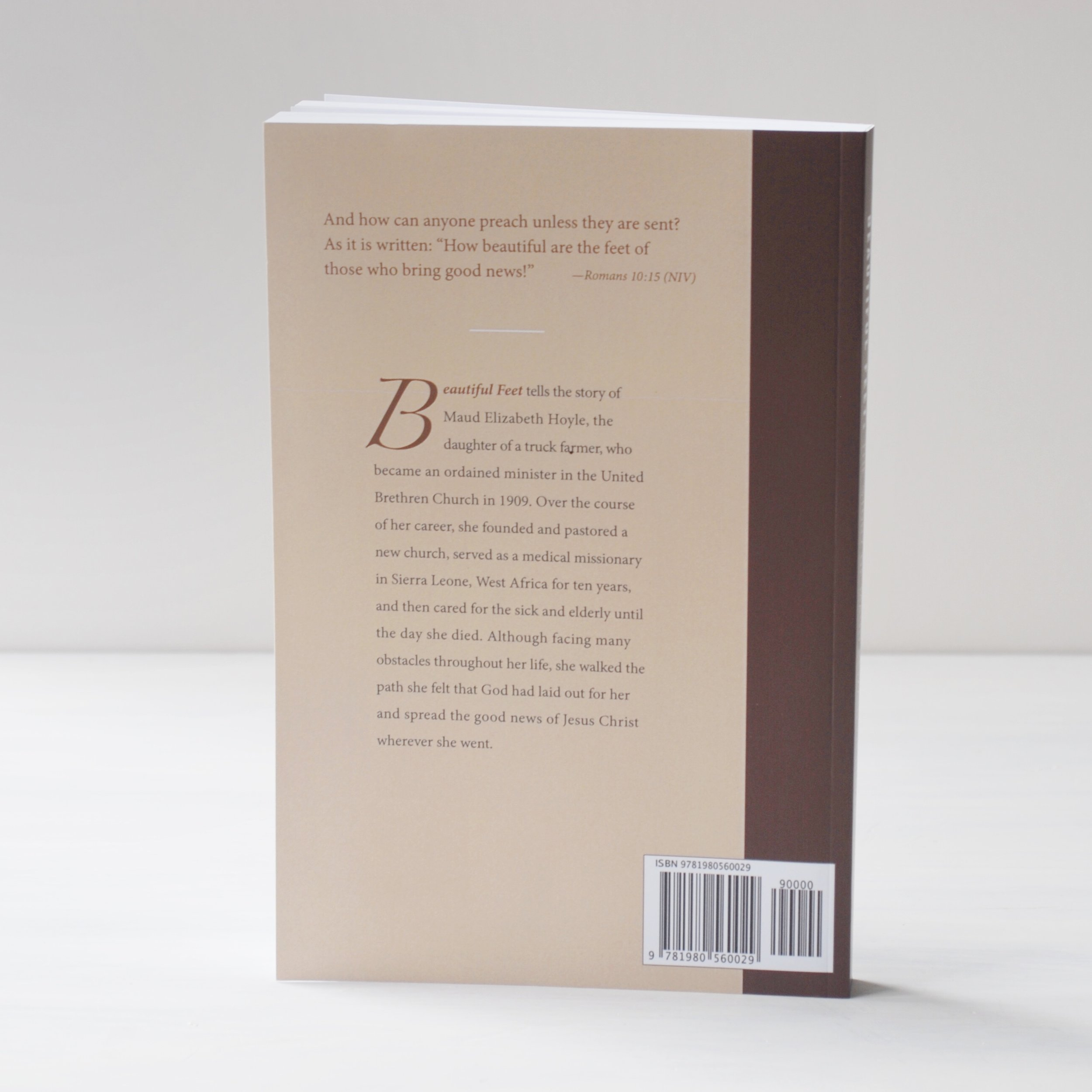 "Don't forget the back of the book: it needs to invite the reader in and carry out the design from the front as well. Michele wrote me, ""Thanks again for your beautiful work—the design was exactly what I wanted!"""
