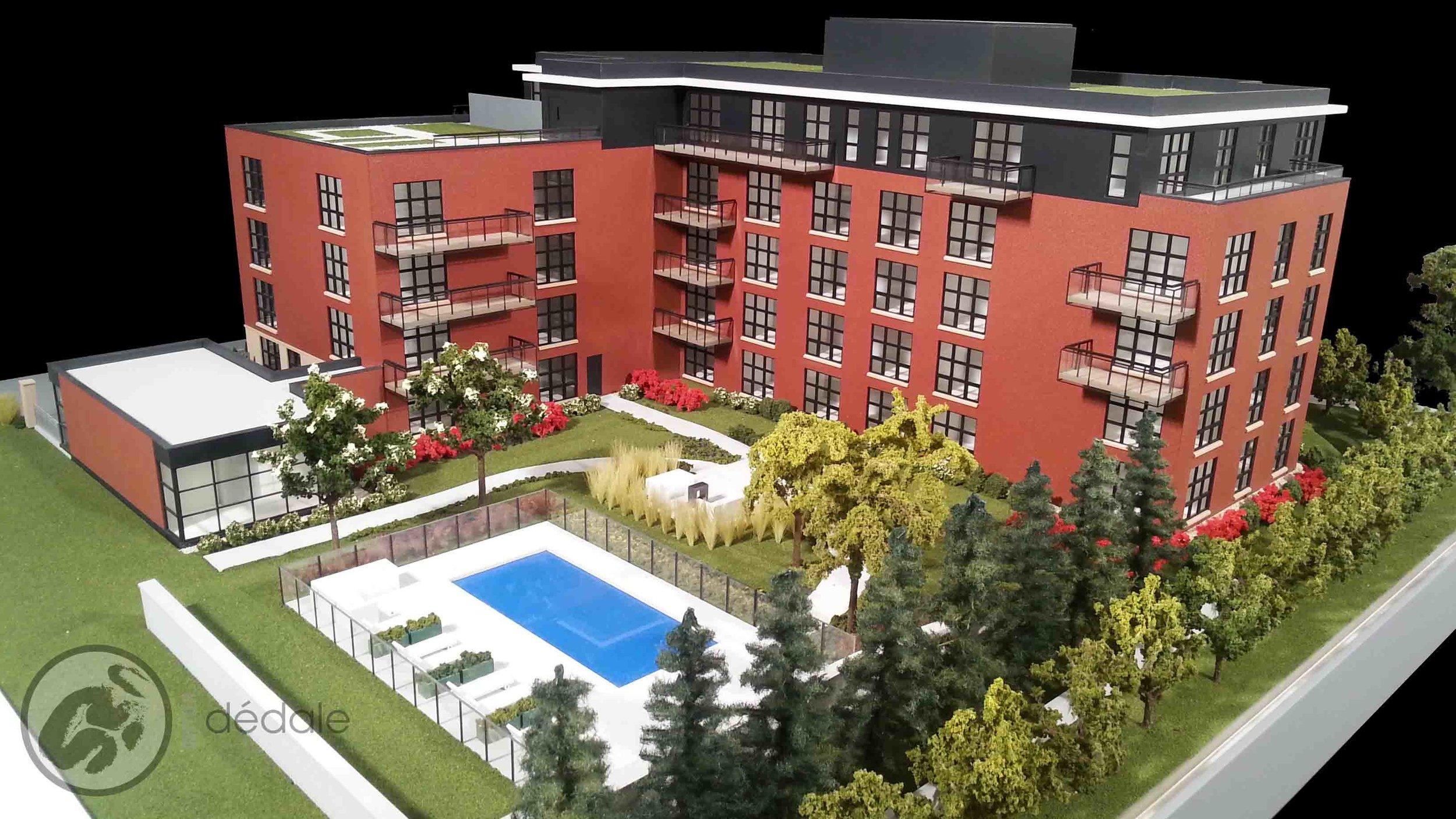 Montclair project architectural models