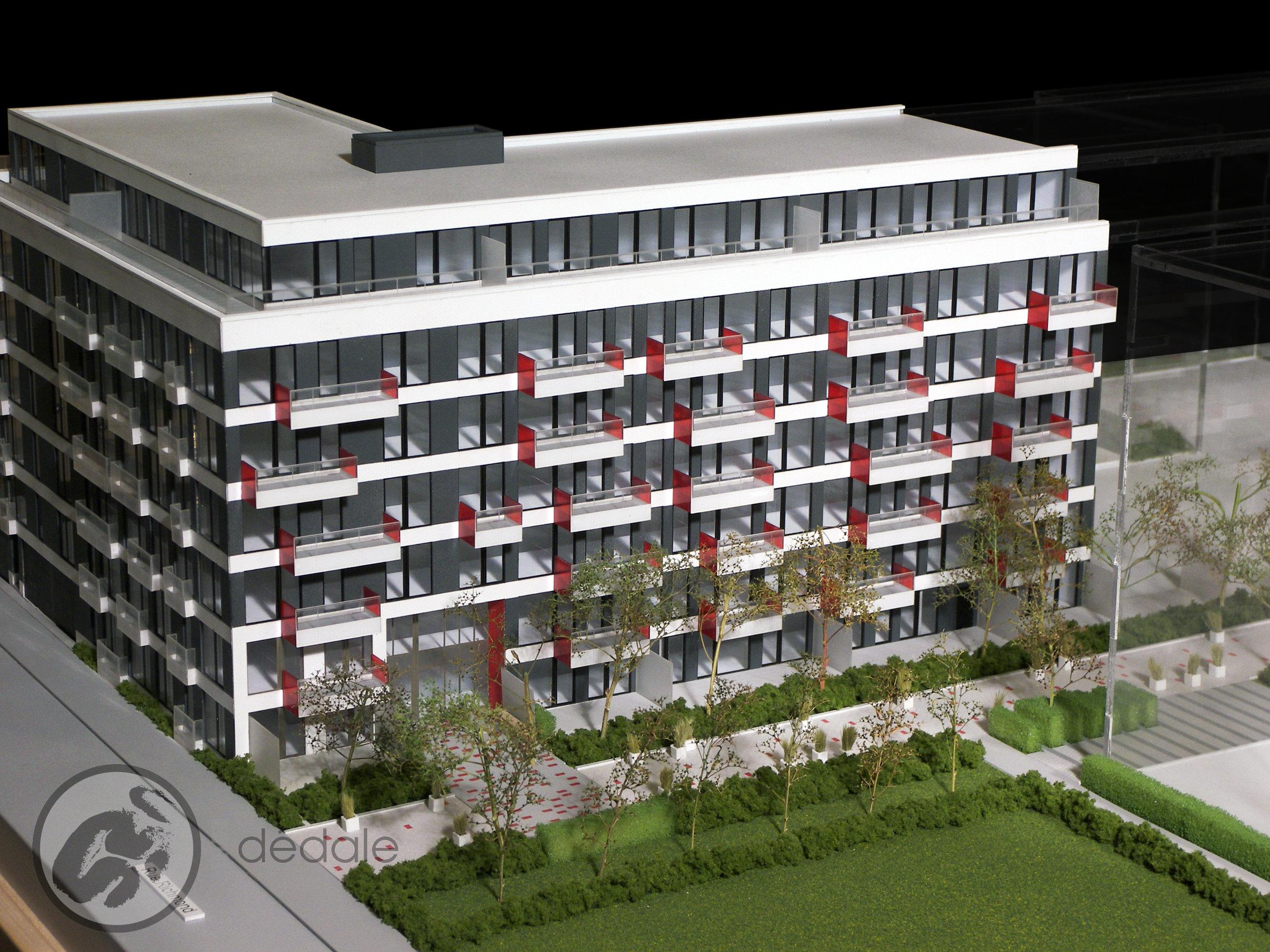 Le SE7T project architectural models