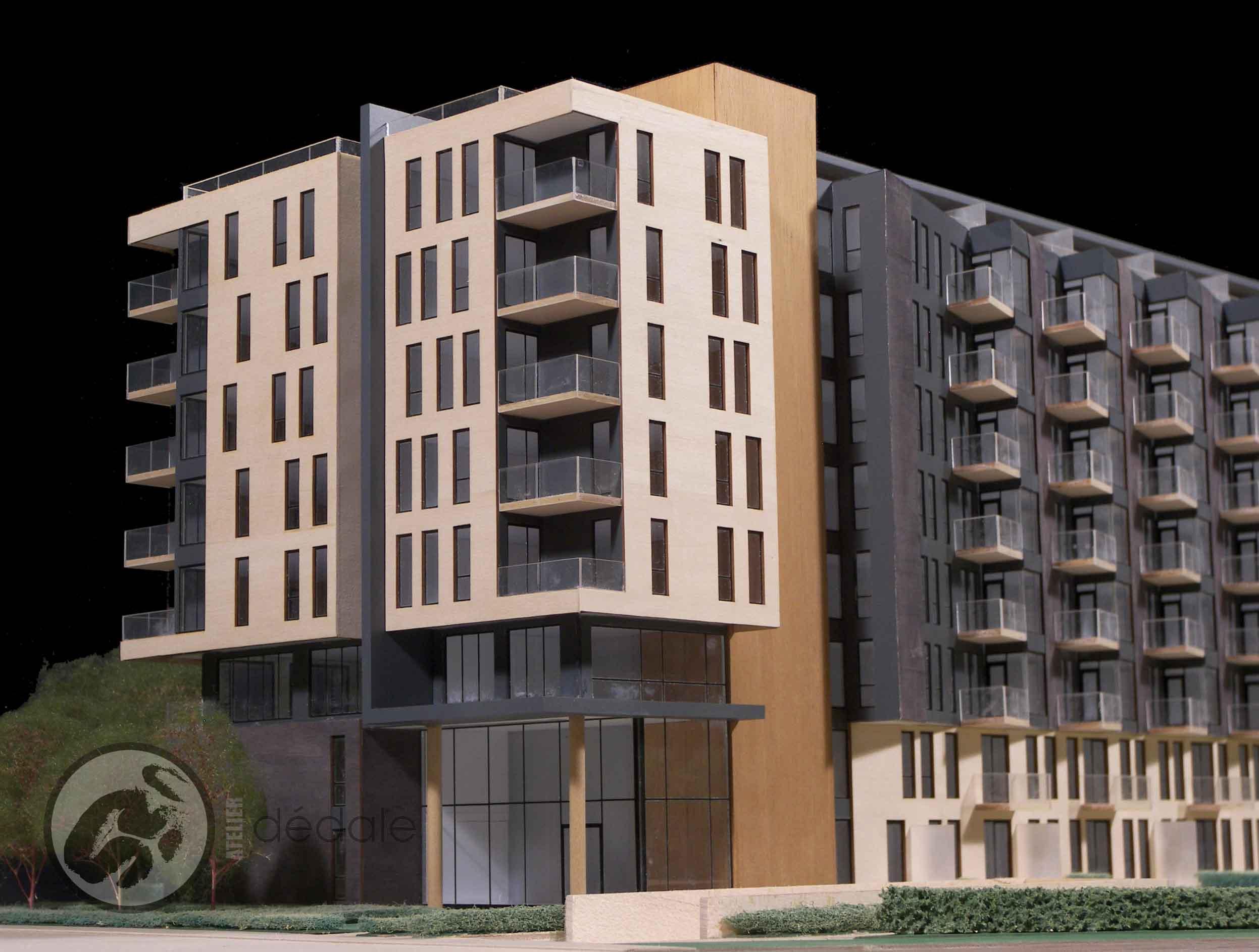Paré project architectural models