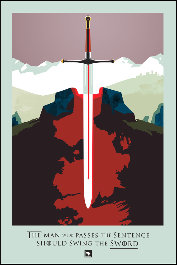 image created by Robert Ball for HBO's Beautiful Death series