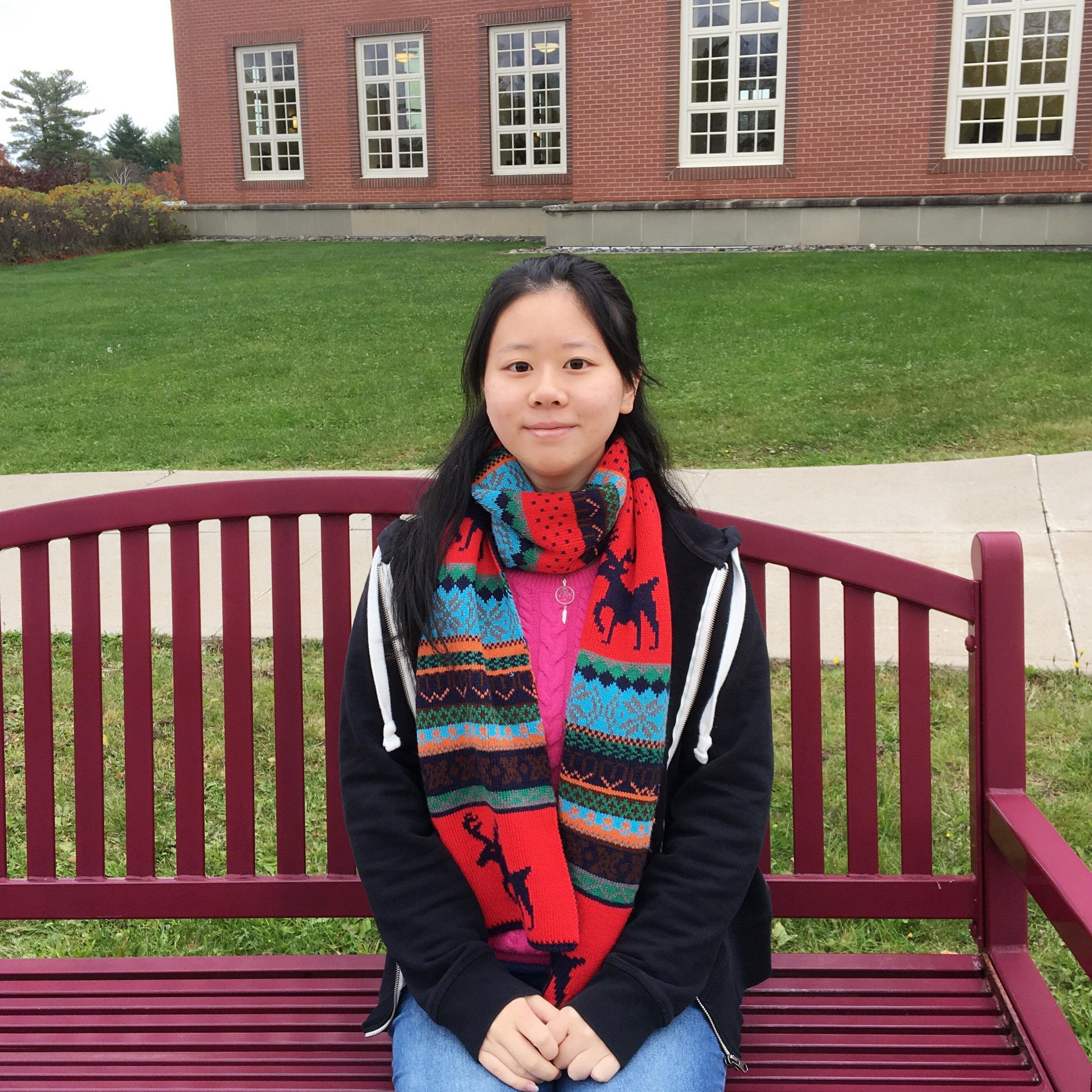 Asteria (Xue'er) Wang from Chengdu, China   St. Thomas University Class of 2020