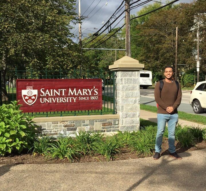 Ibrahim from the United Arab Emirates   Saint Mary's University