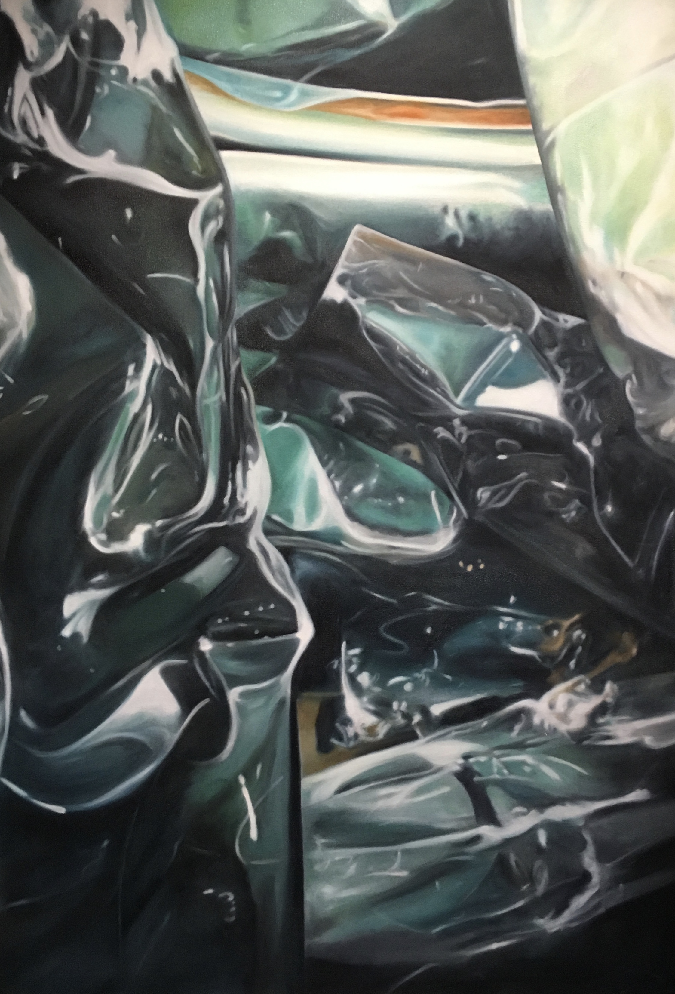 CRUSHED METAL 2 34X48 OIL