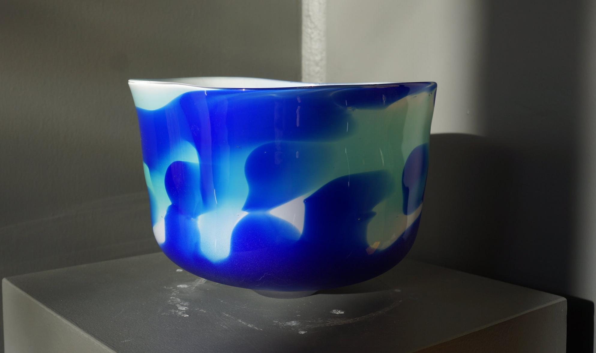 GLASS BOWL 9 IN $350.