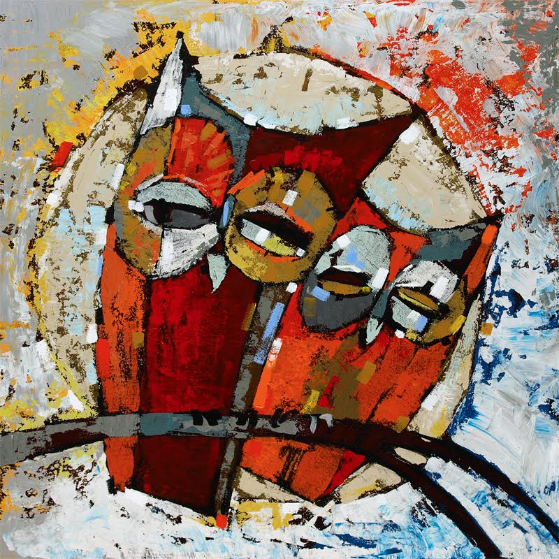 Stefan Geissbuhler - Acrylic