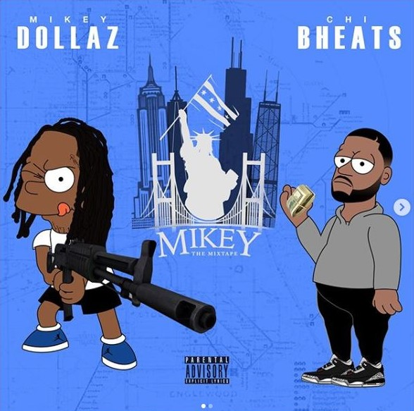 mikey dollaz mikey the mixtape front.JPG