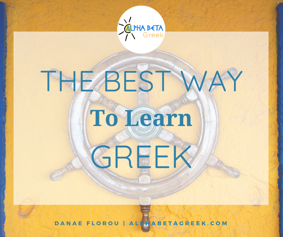 The Best Way To Learn Greek | Danae Florou Alpha Beta Greek