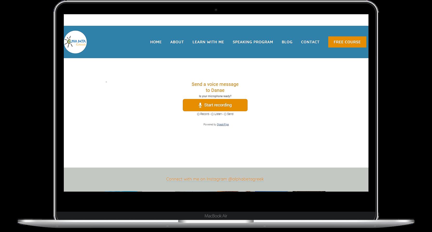 Greek lessons online_speaking and feedback program_alphabetagreek