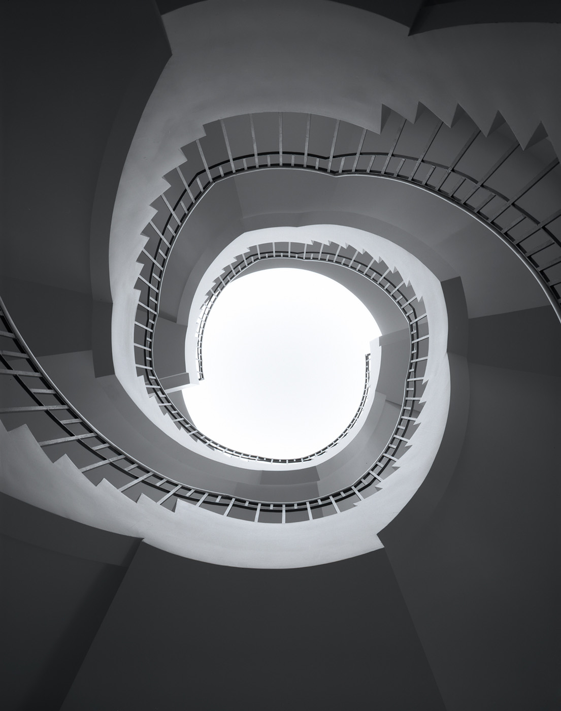 Spiral Staircase, Woodbridge, New Jersey