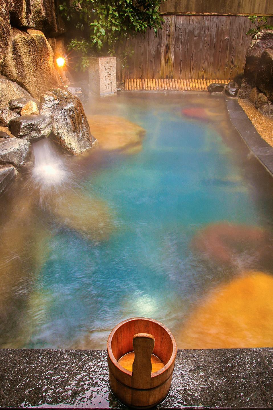 Onsen Spa, Japan