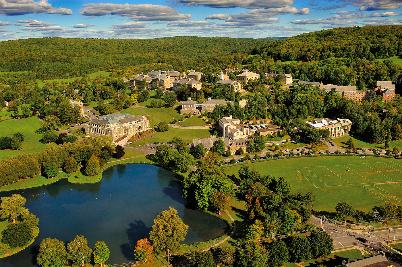 Colgate University, Hamilton, New York