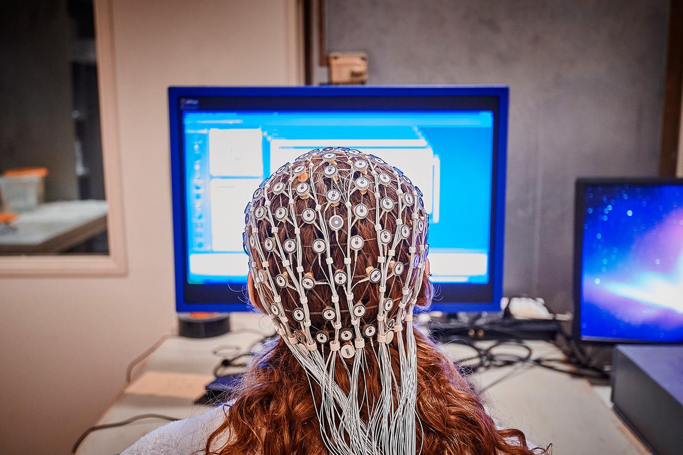 Brain Scan in Neuroscience Laboratory
