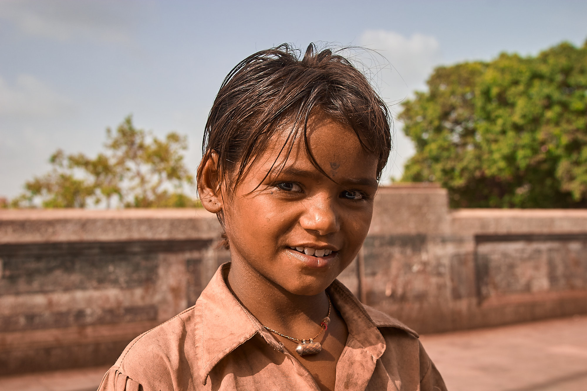 Young Child, Mumbai, India