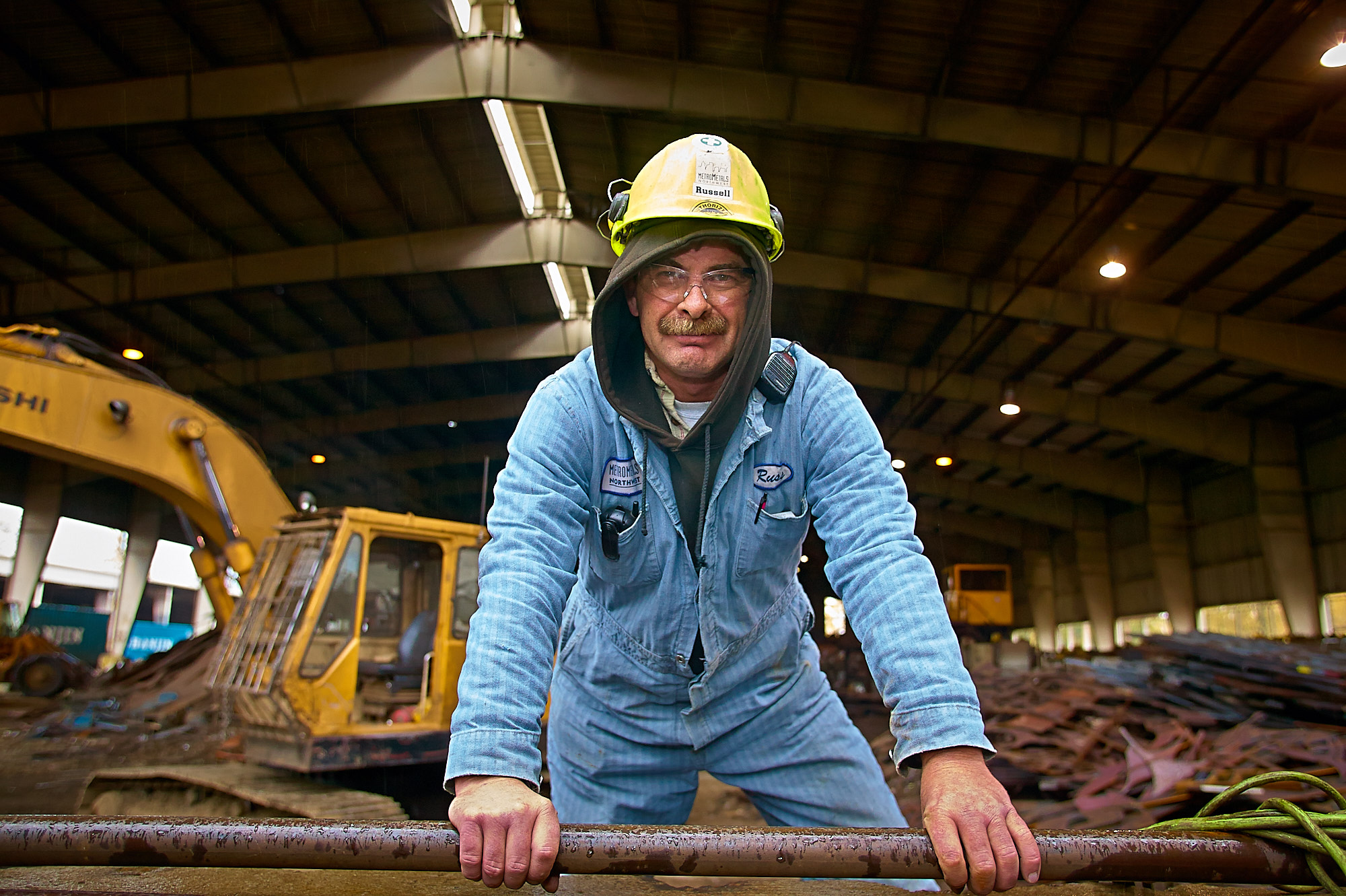 Russell, Worker at Metro Metals Northwest, Portland, Oregon