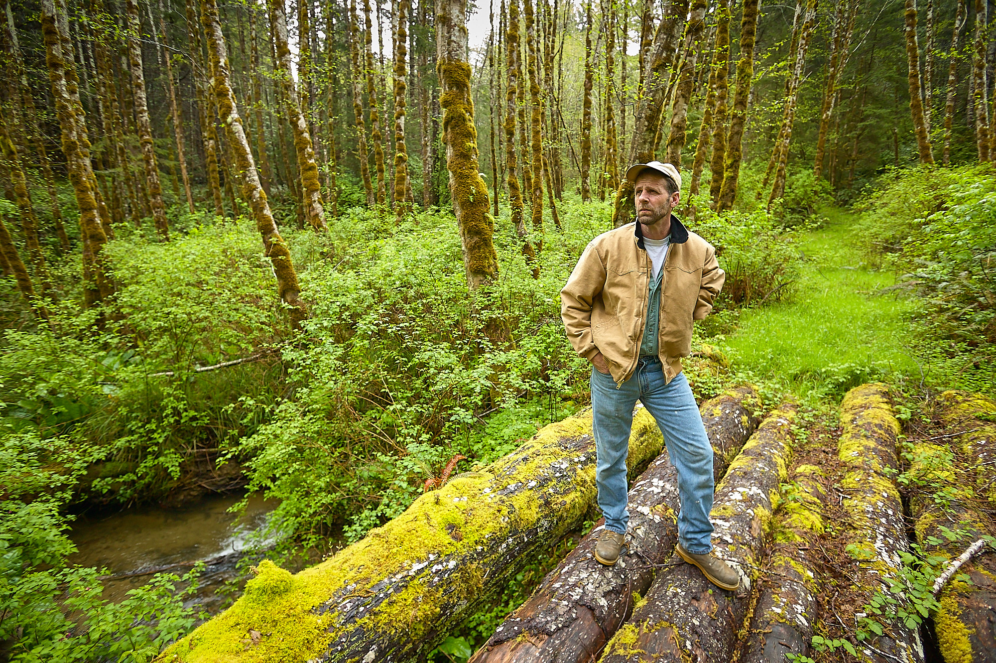 Scott Cook, Commercial Fisherman, Commercial Tree Farmer, Commercial Pilot
