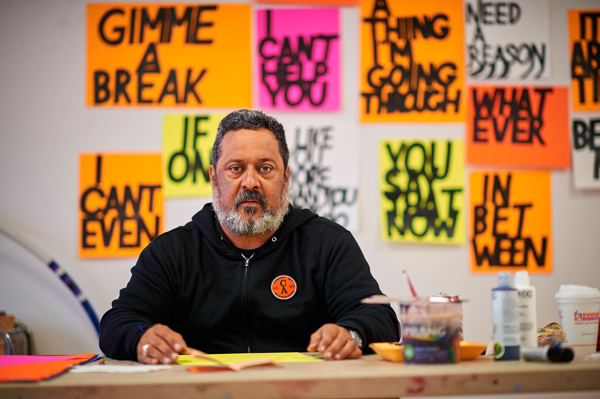 Artist Cliff Hengst, Hamilton, New York