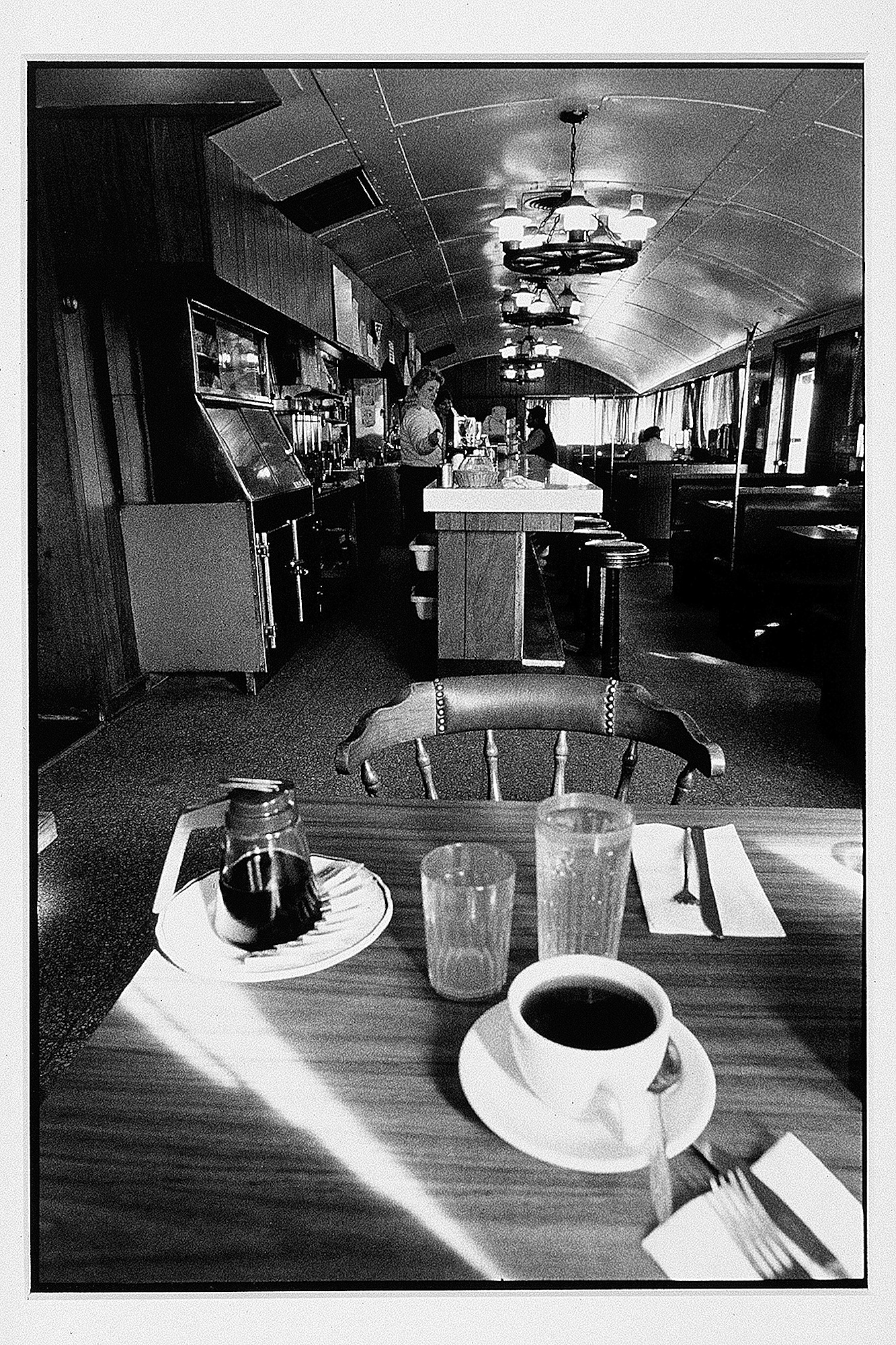 The Loraine Diner series. Personal project on the Loraine Diner, an old, stainless steel, boxcar-style diner that was razed to make way for a McDonalds.