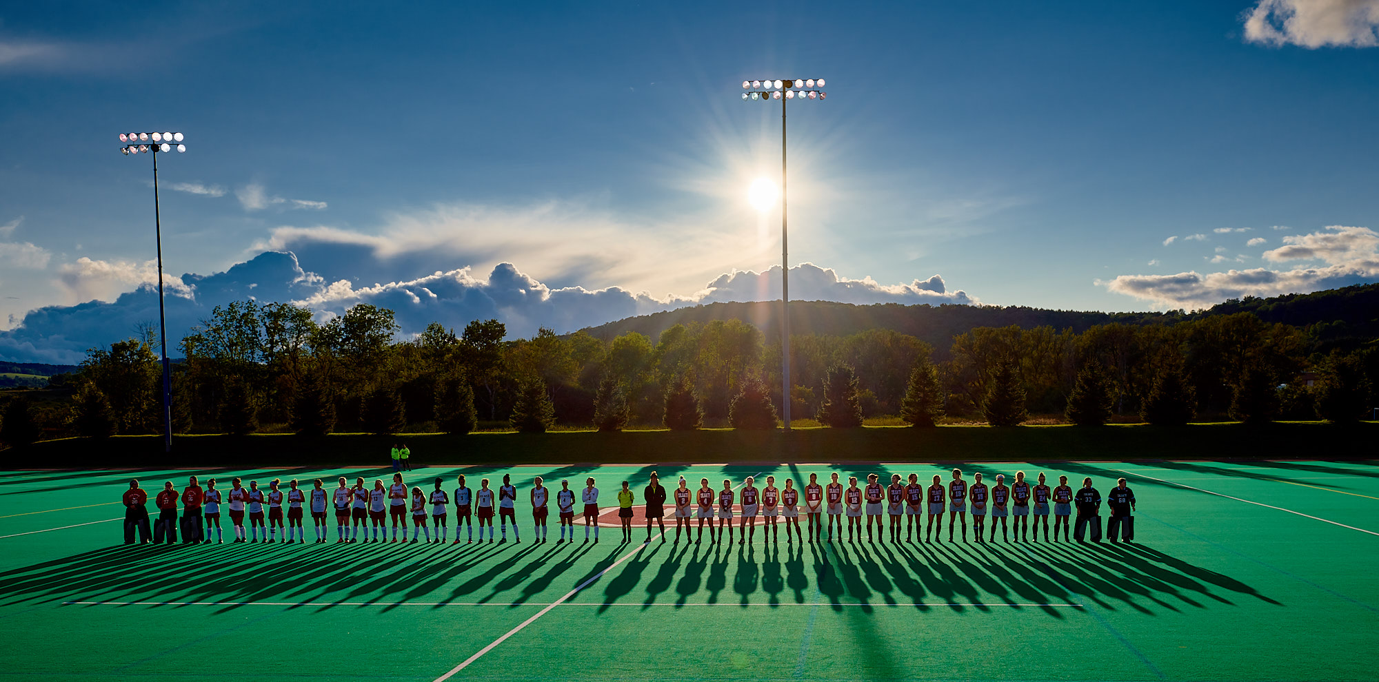 Colgate University Field Hockey Game, Hamilton, New York
