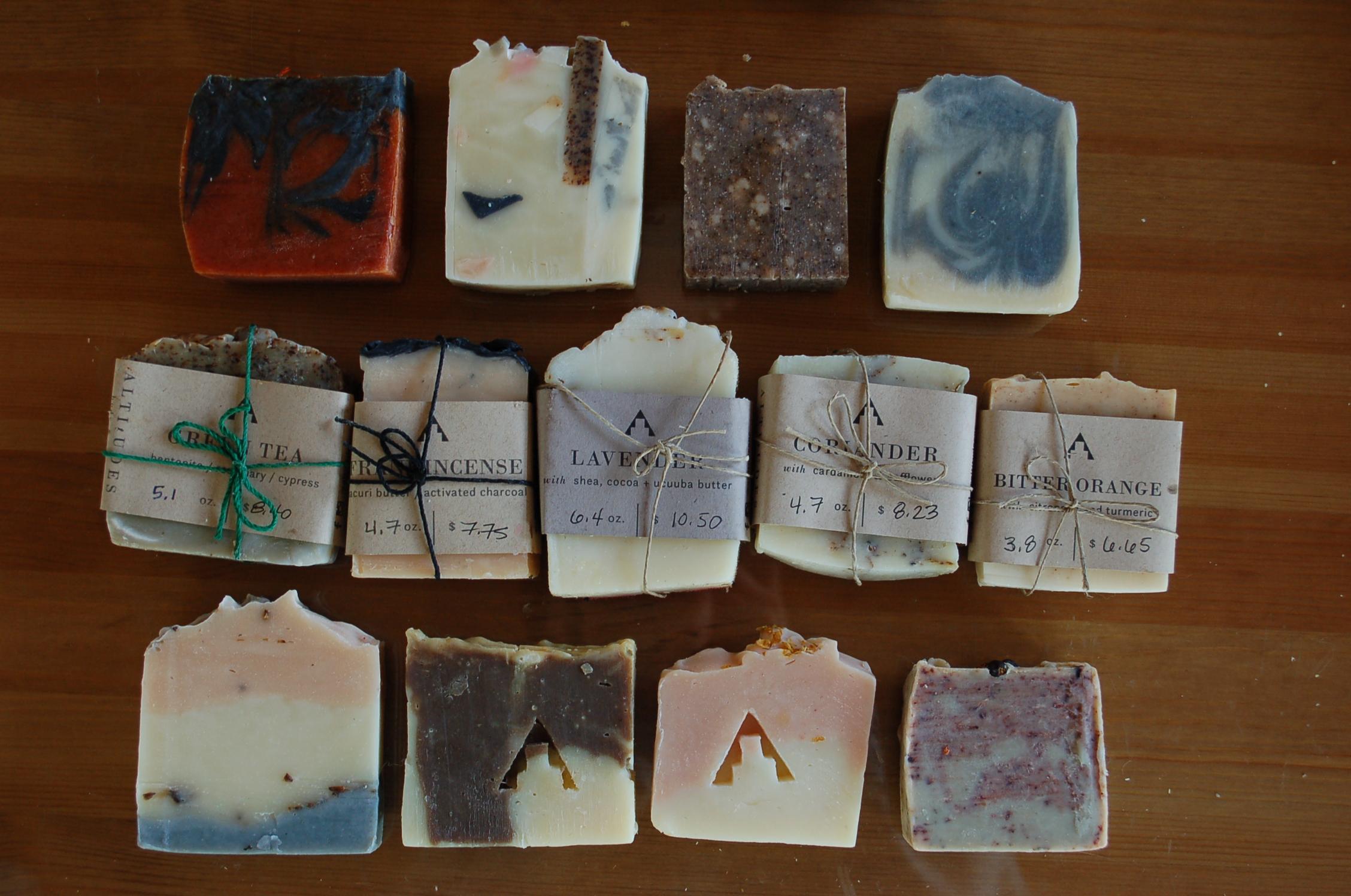 Handmade soap -
