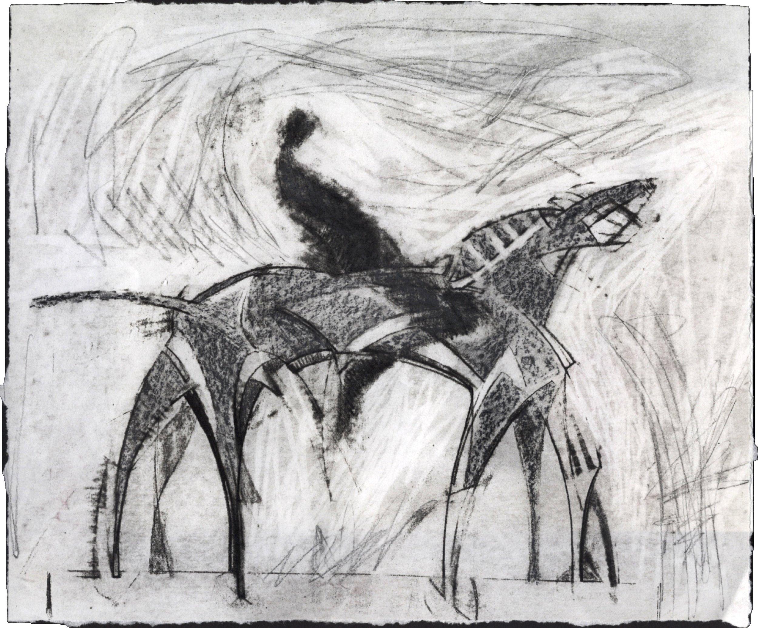 Study for Parade Horse I