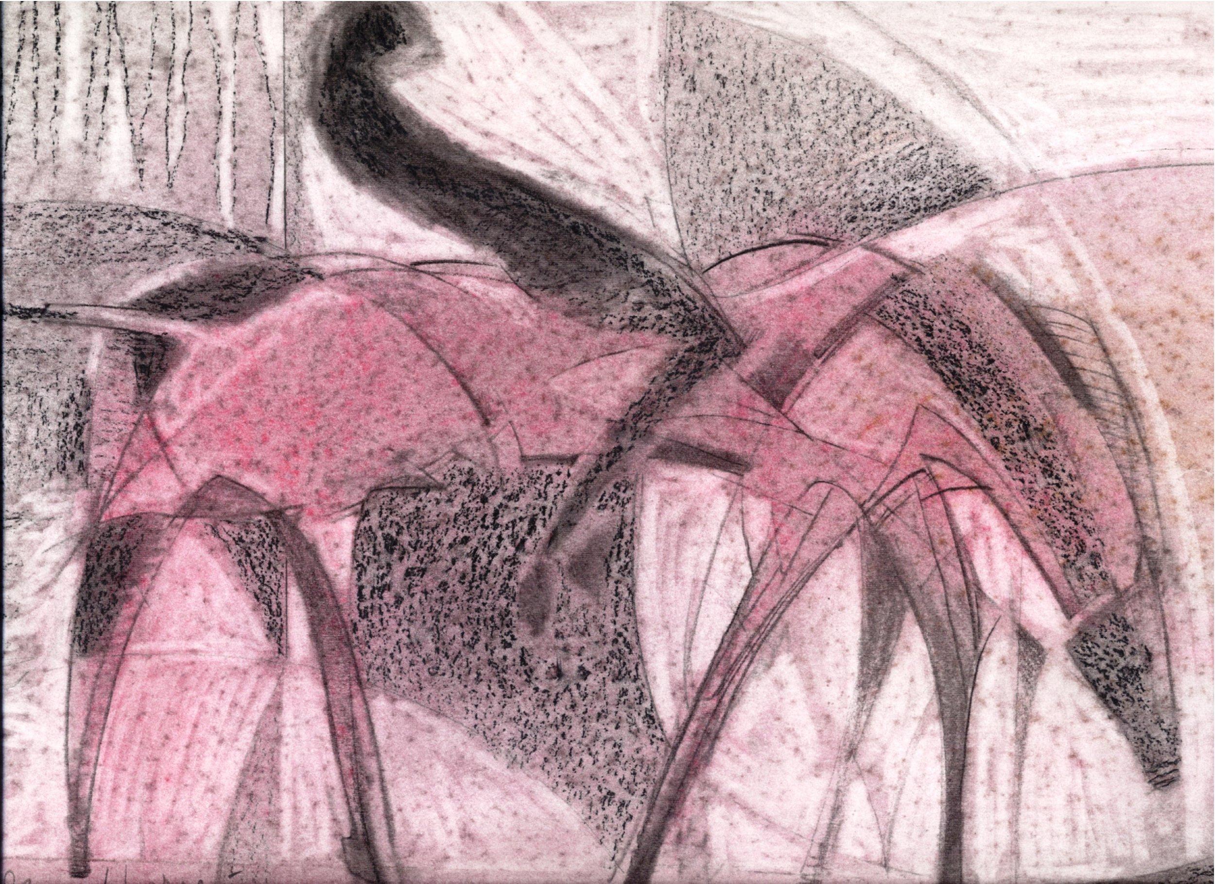 Color Study for Parade Horse I