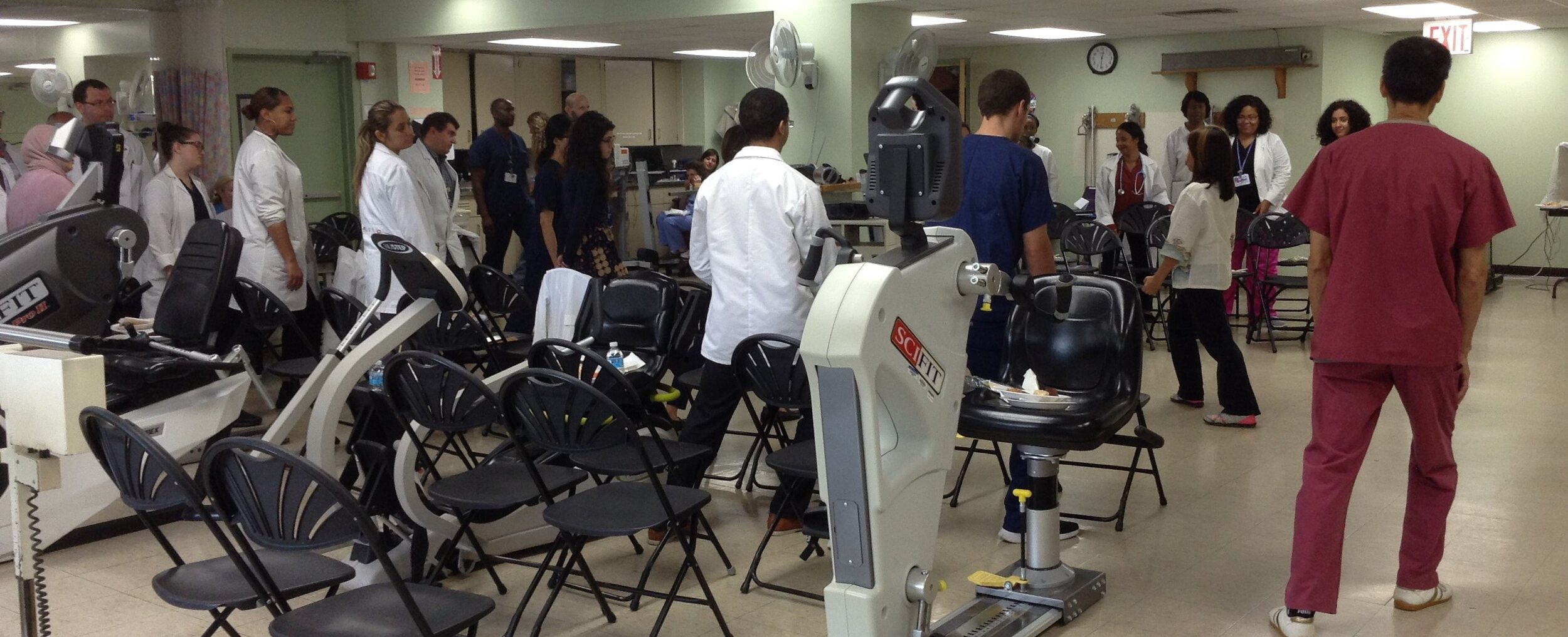 Tai Chi workshop at Kingsbrook Jewish Medical Center
