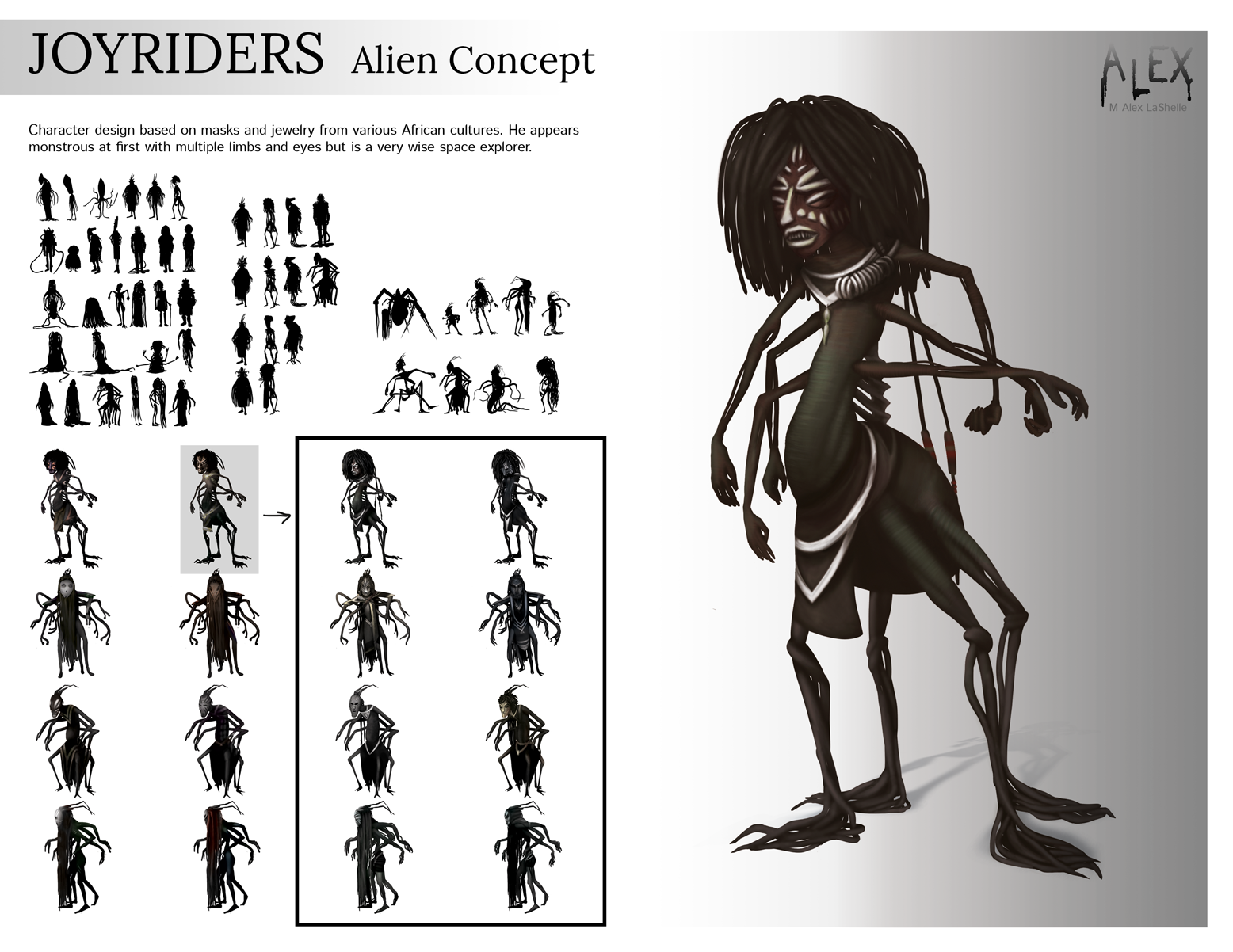Joyriders Movie: Alien Process