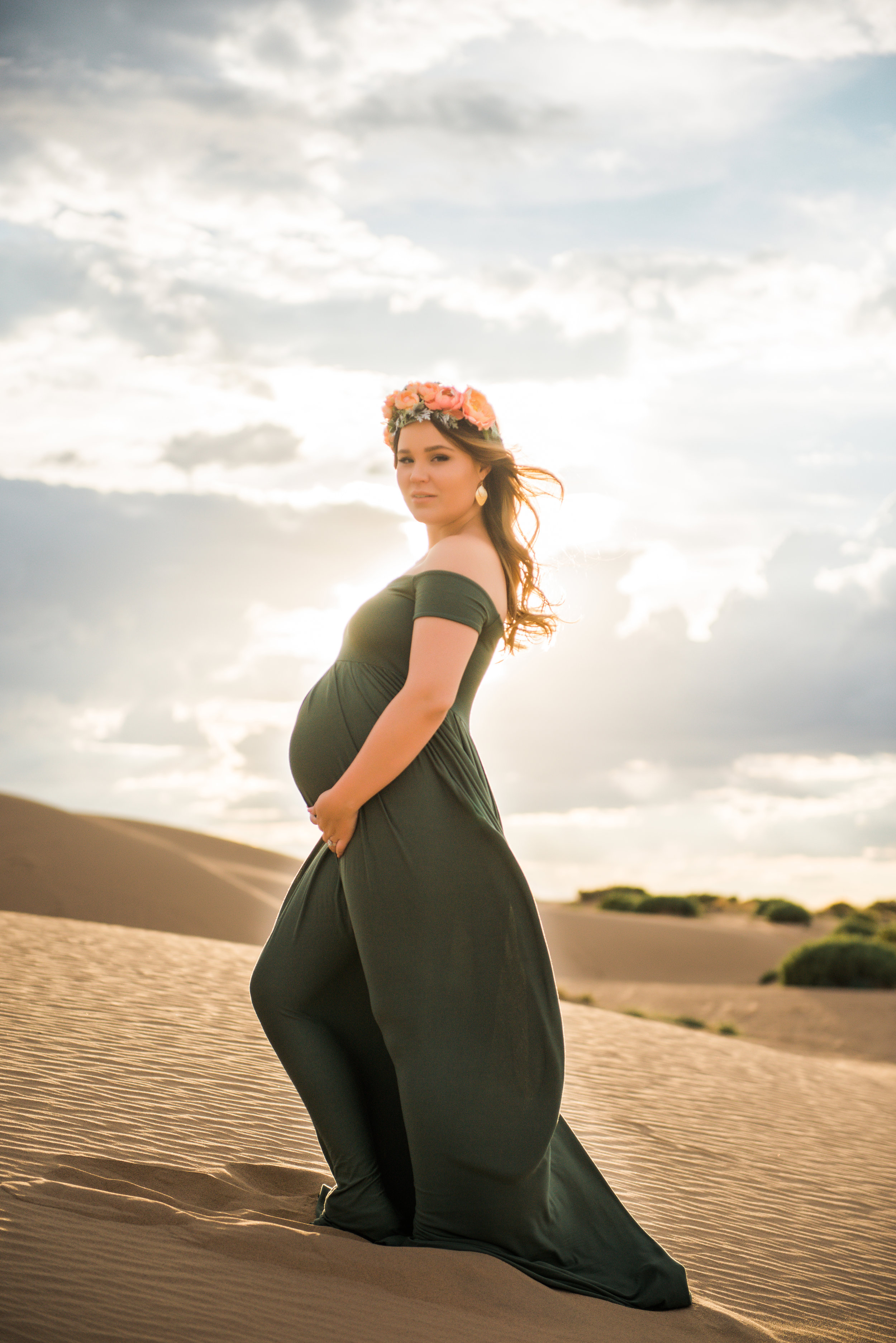 Caitlyn Maternity  Sand Dunes, NM