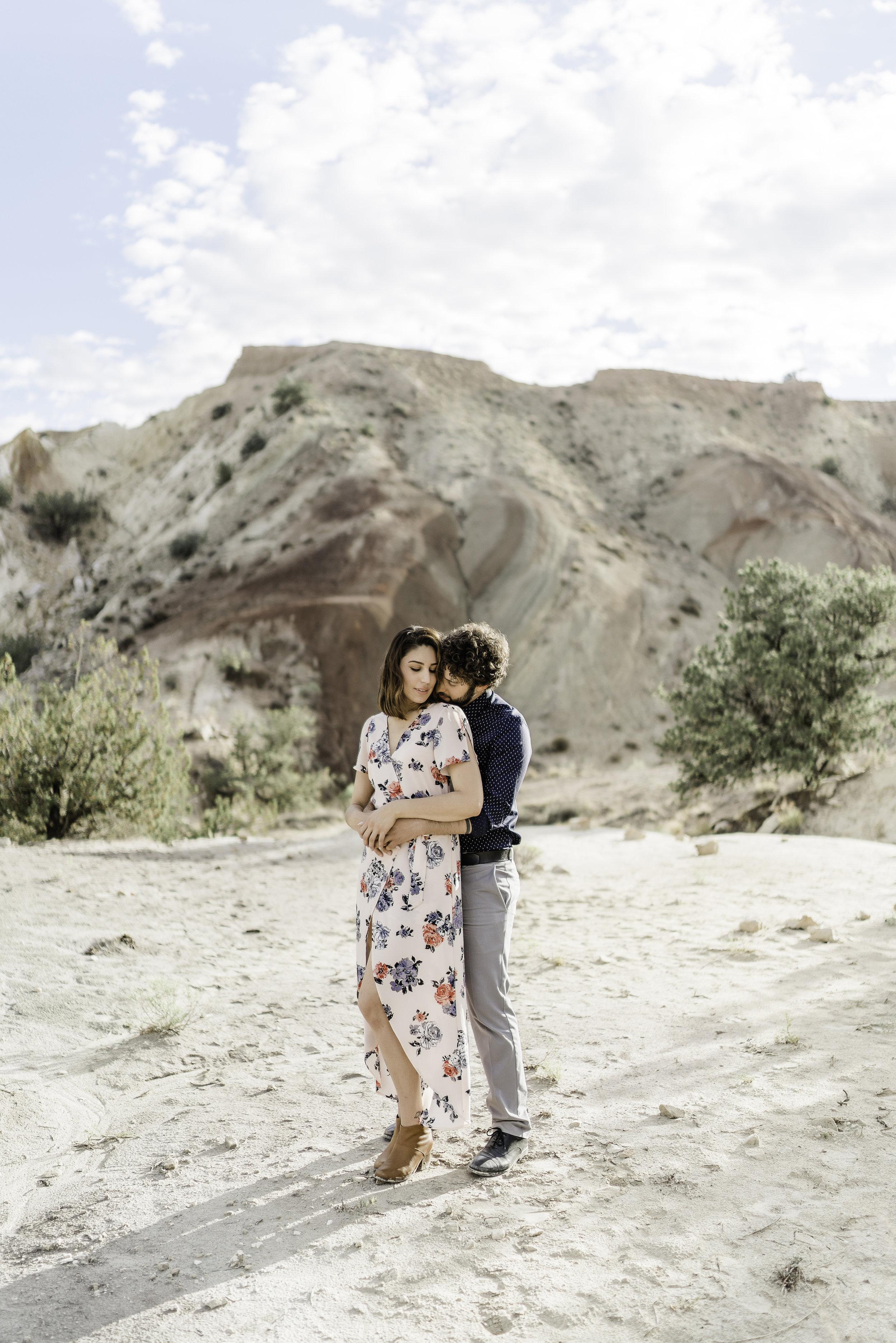 Ty & Marina engagement  Northern NM