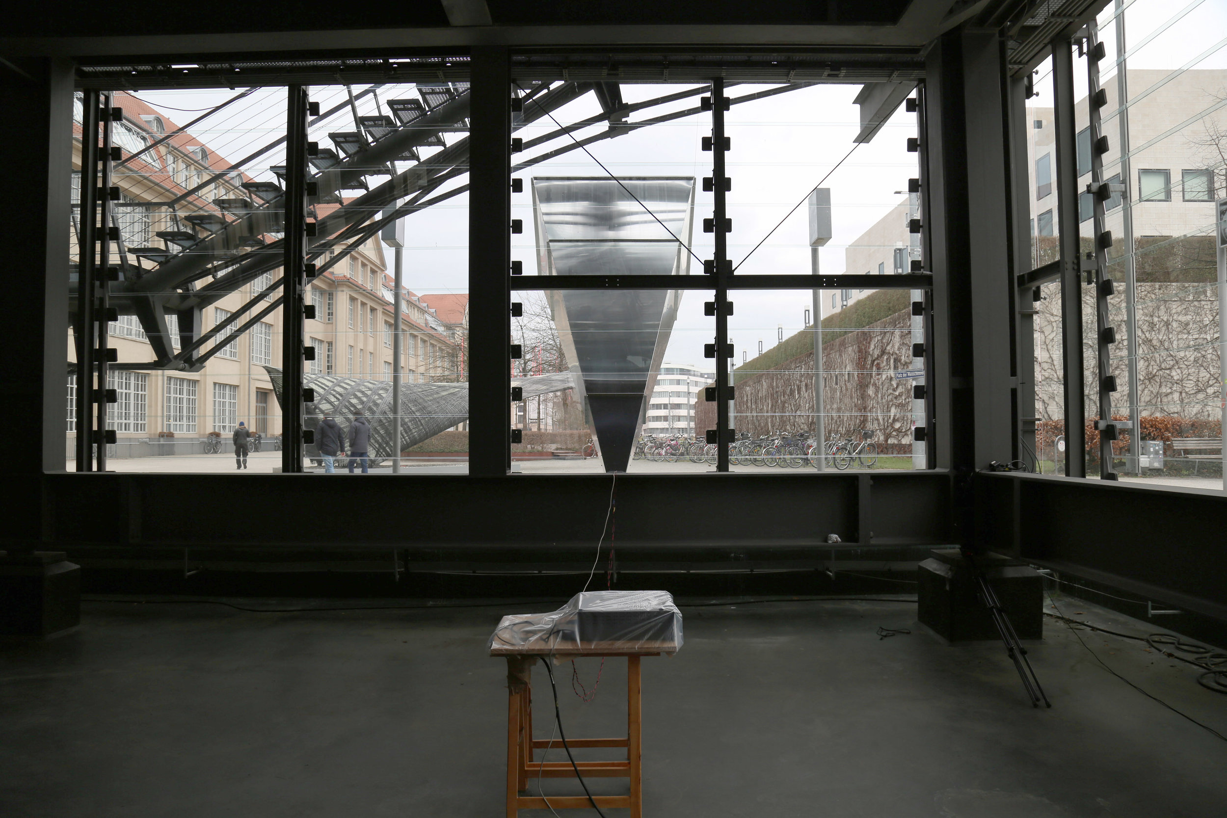 Radio Painting Station: Looking for the Waterhole, ZKM, Karlsruhe, Germany, 2017 - 2018