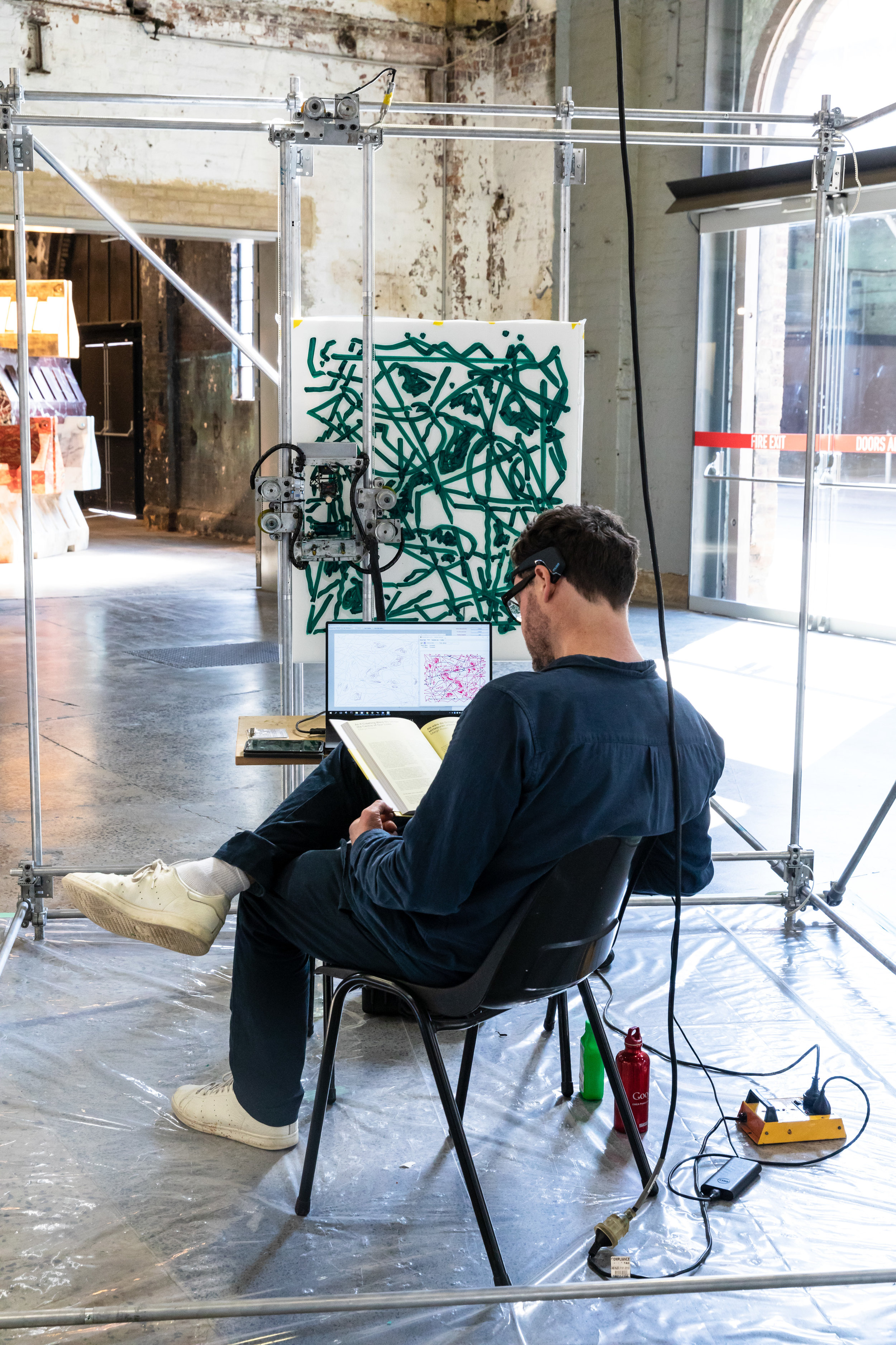 Monadic Device, Sydney Contemporary, Sydney, 2018