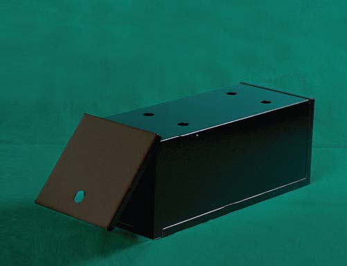 blackjack Metal Shoe Drawer  Product Code: shodwr   Dimensions: 15¼ x 6¼ x 6   Lock Installation Available Upon Request